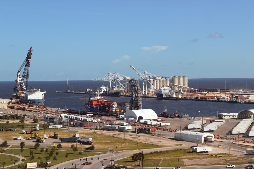 Facilities of the Gulfport Port