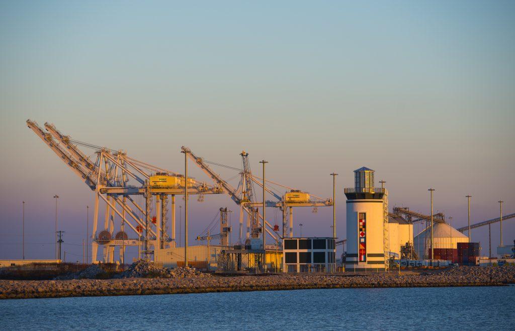 Port Beauty from Afar