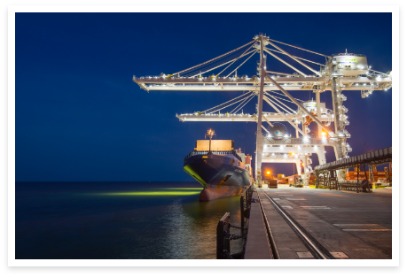 Port of Gulfport's New Lighting Meets International Standards