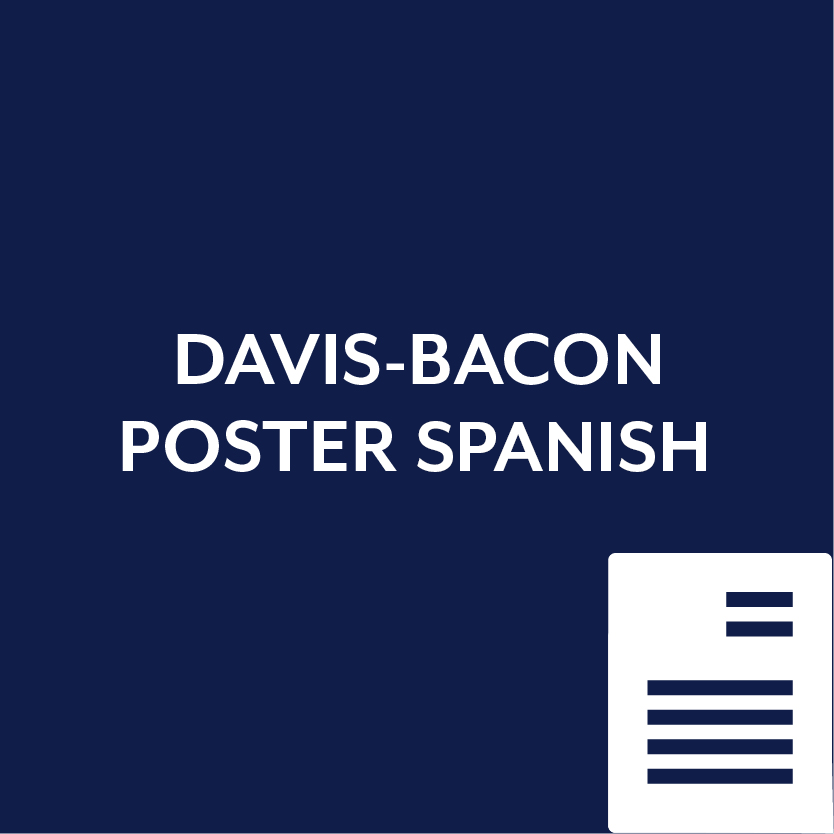 Davis Bacon Poster in Spanish