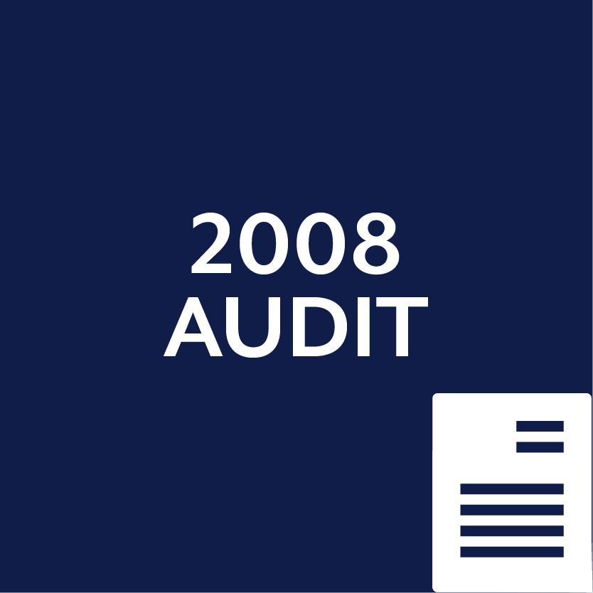2008 Audit