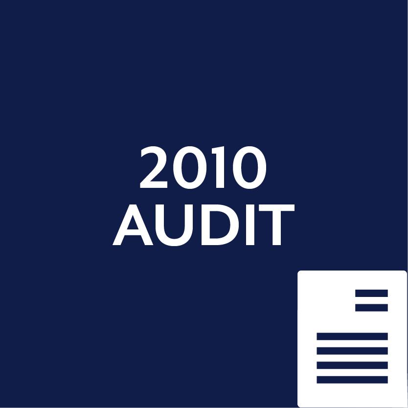 2010 Audit