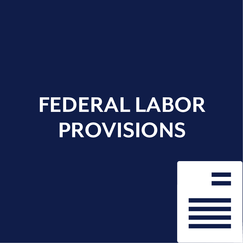 Federal Labor Provisions