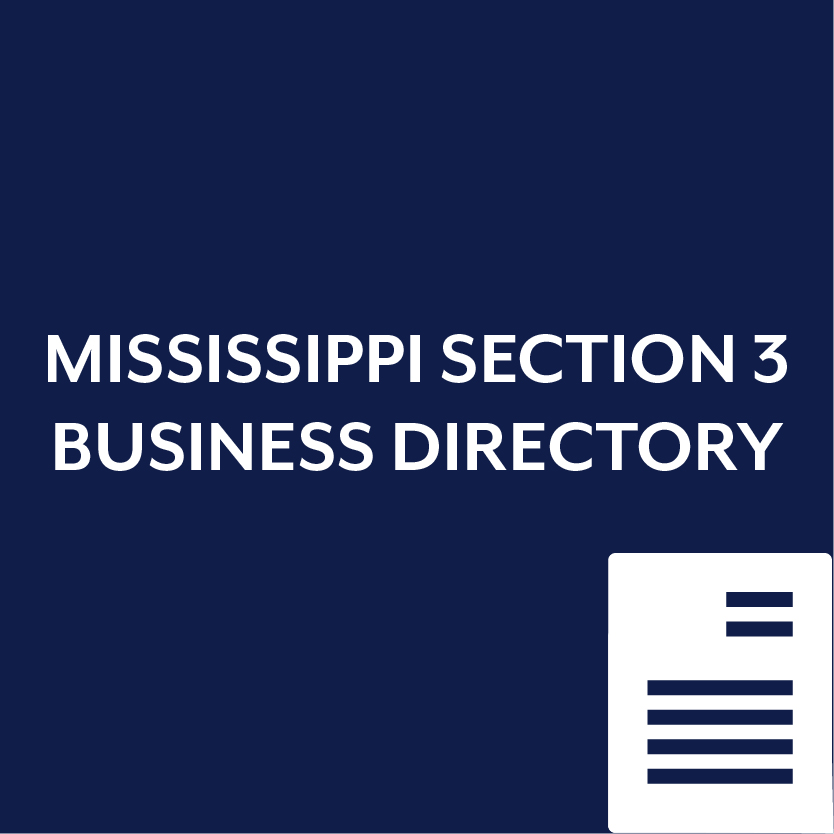 Mississippi Section 3 Business Directory
