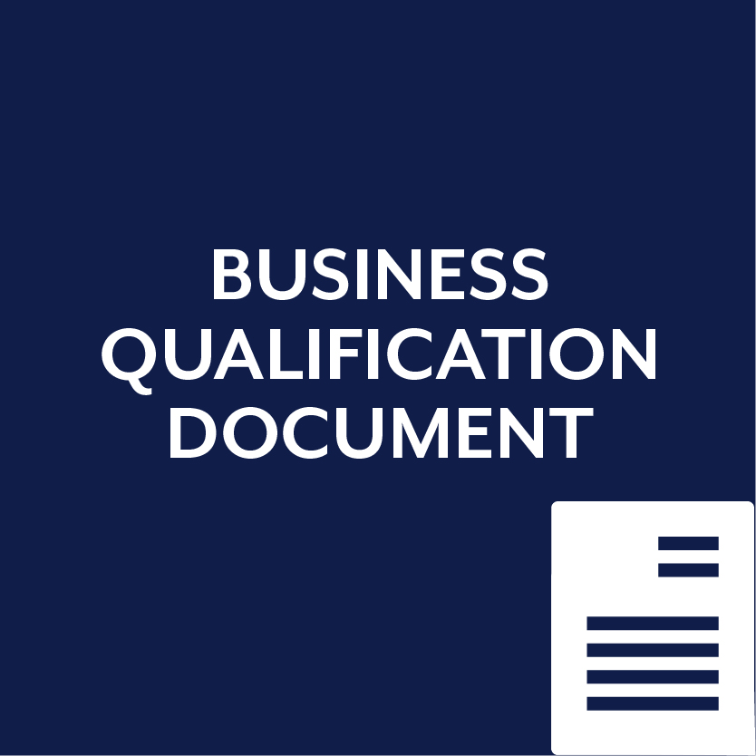Business Qualification Document