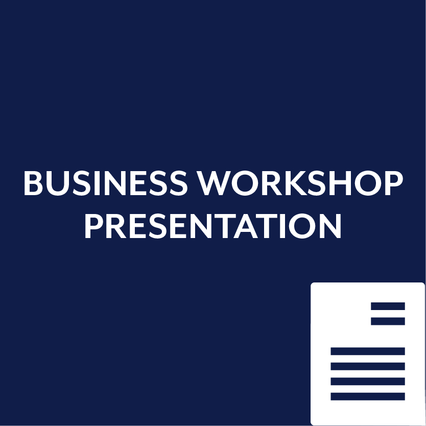 Business Workshop Presentation